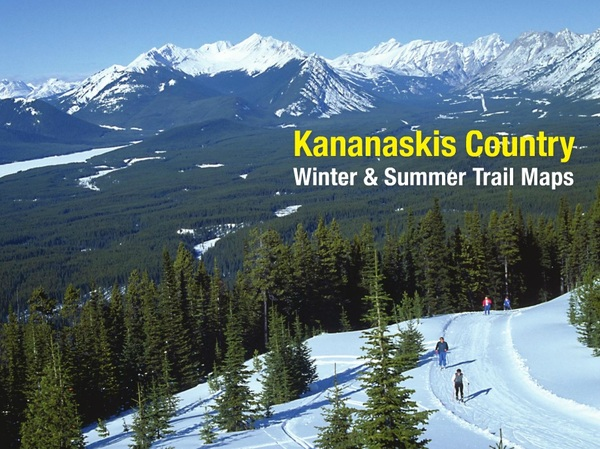 Kananaskis Country Winter and Summer Trail Maps cover 2